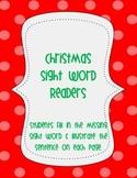 5 Christmas Sight Word Readers