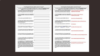 5 Civil War Primary Source Documents with guiding questions and other activities