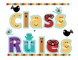 5 Class Rules