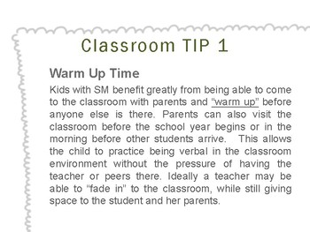 Classroom Tips for Supporting Students with Selective Mutism