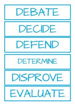5. Cognitive Verbs - Evaluaton