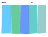 5-Column Organizer Color