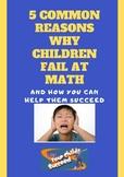 5 Common Reasons Why Children Fail At Math