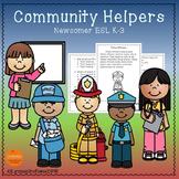Community Helpers Worksheets -  Reading Comprehension Passages K-2