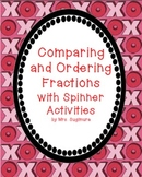 5 Comparing and Ordering Fractions Activities