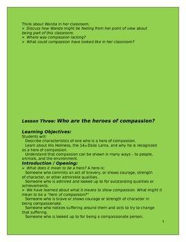 5 Compassion Lessons