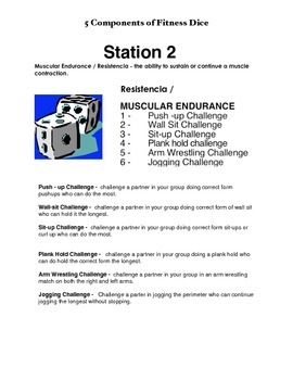 Physical Education - 5 Components of Fitness
