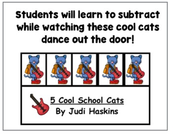 Subtraction - 5 Cool Cats