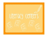 5 Cooperative Learning Literacy Centers