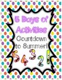 5 Countdown to Summer Activities