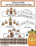 """5 Little Pumpkins"" Activity: Crown Craft"