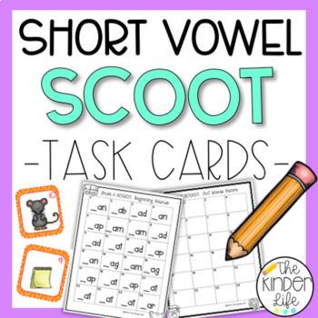 Short Vowels Task Card BUNDLE