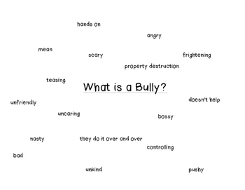 5 Day Bullying Lesson Plans