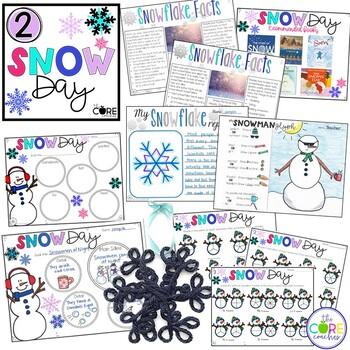5 Day Classroom Countdown to Winter Break for Primary Grades 1-3