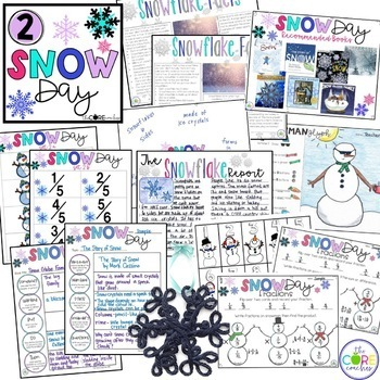 5 Day Classroom Countdown to Winter Break for Upper Grades 4-6