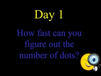 5 Day Dot Pattern Flash Practice