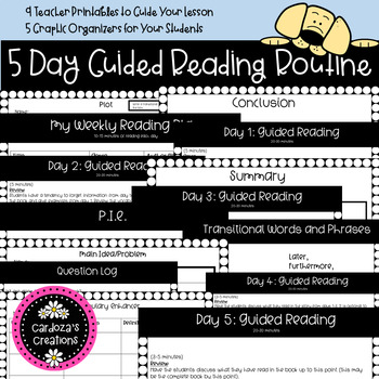 5 Day Guided Reading Routine
