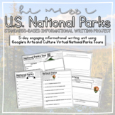 5-Day Informational Writing Project: U.S. National Parks