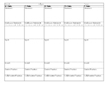 Gradual Release of Responsibility Model Lesson Plan Template - 5 Day