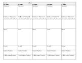 Gradual Release of Responsibility Model Lesson Plan Templa