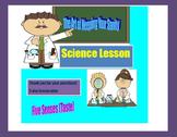 5 Day Lesson Plan on the Five Senses (Taste)
