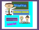5 Day Lesson Plan on the Five Senses (Touch)