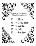 POWER Writing Strategy (Guided Practice) No Prep