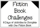 5-Day Fiction Book Challenge