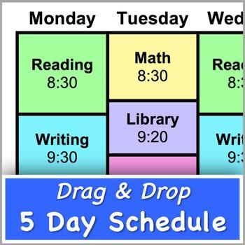 5 Day Schedule