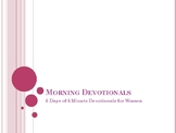 5 Days of 5 Minute Devotionals for Women