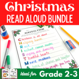 5 Days of Christmas Interactive Read Aloud Lesson Plan and activities BUNDLE