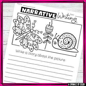5 Days of Narrative Writing - Spring