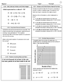 5 Days of STAAR Review - 6th Grade Math