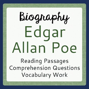biography of edgar allan poe Media in category edgar allan poe the following 73 files are in this category, out of 73 total.