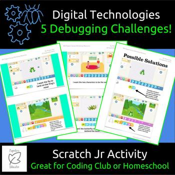 5 Debugging Challenges To Use With Scratch Jr IOS/Android App
