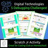 STEM/Coding, 5 Debugging Challenges for Scratch Jr IOS/And