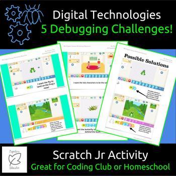 Scratch Jr Debugging Activity Australian Curriculum