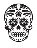 5- Dia De Los Muertos Coloring Page & Reading Comprehensio