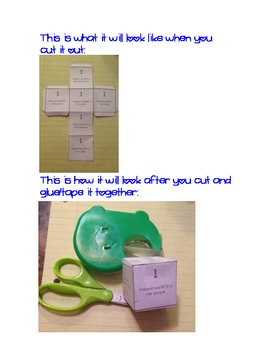 5 Different Printable Math Dice Games for Multi-step Word Problems