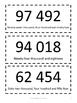 5 Digit Number Cards