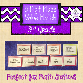 5-Digit Place Value Matching Game