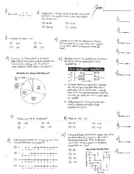 5 Double Sided Pre Alg Algebra 1 Probability Proportions G