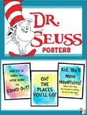 5 Dr. Seuss Posters