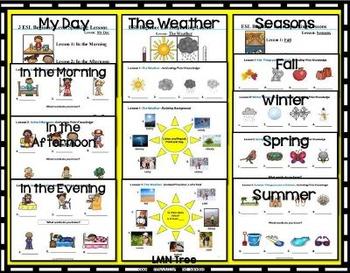 5 ESL Elementary Beginner Lessons Bundle #1