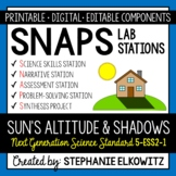5-ESS1-2 Shadow and Day Length Patterns Lab Stations Activity