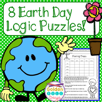 Earth Day Logic Puzzles For Beginners ~Critical Thinking~