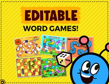 5 Editable Word Games
