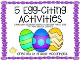 5 Egg-citing Activities to Use with Plastic Eggs for ELA and Math