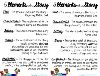 short story elements test pdf