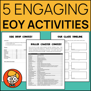 5 Engaging End of the Year Activities